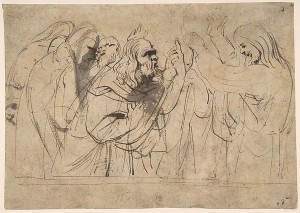 Christ and the Pharisees- Anthony van Dyck