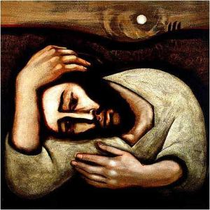 Christ in Gethsemane - Michael O'Brien