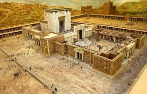 A model of Herod's Temple